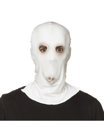 Creepy White Adult Them Mask
