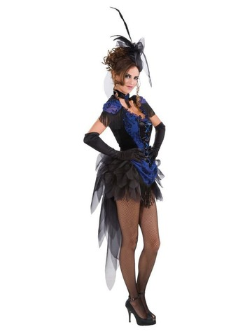 Victorian Raven Costume for Adult