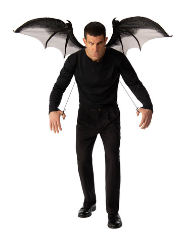 Adult Gray Devil Wings