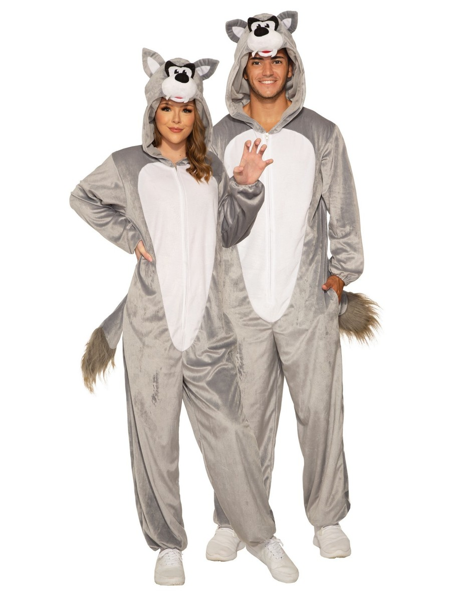 View larger image of Wolf Costume for Adult