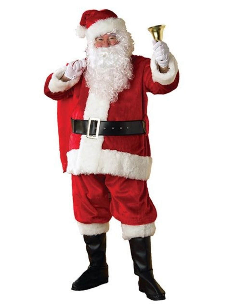 View larger image of Adult Xxl Regency Plush Santa Suit