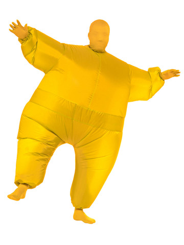Inflatable - Yellow - Adult Costume