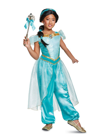 Aladdin Princess Jasmine Deluxe Girls Costume