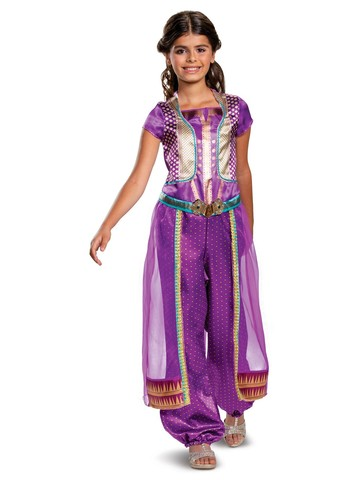 Jasmine Classic Toddler Aladdin Costume (Purple)