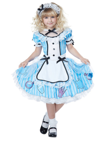 Alice Large Child Costume