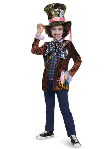 Alice Through the Looking Glass - Boys Mad Hatter Classic Costume