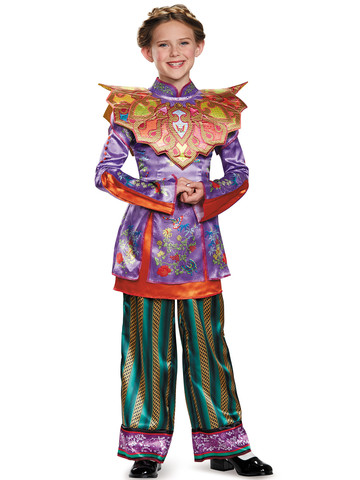Alice Through the Looking Glass - Girls Alice Asian Look Deluxe Costume