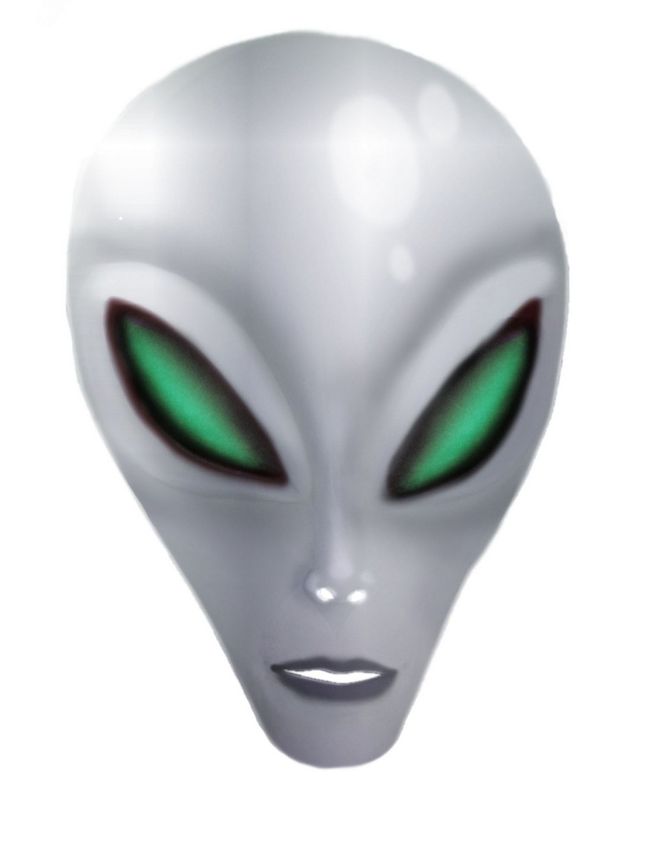 View larger image of Eerie Alien Mask