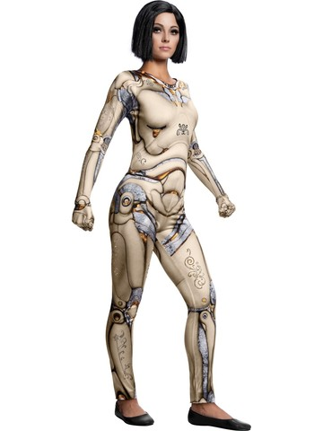 Alita Battle Angel Adult Alita Doll Body Costume