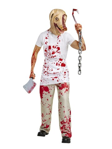 American Horror Story Adult Piggy Man Costume