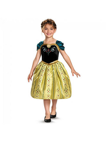 Girl's Classic Anna Coronation Gown
