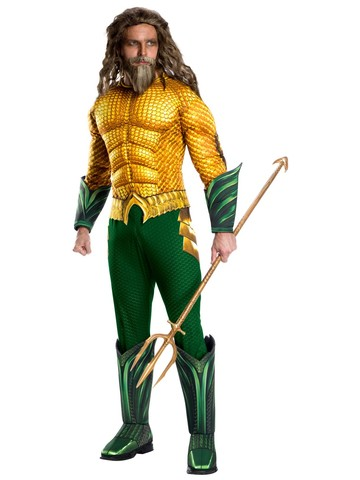 Deluxe Aquaman Adult Costume - Aquaman Movie