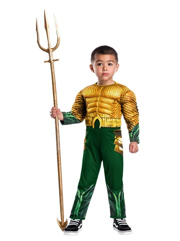Aquaman Movie Toddler Child Aquaman Costume