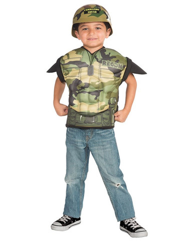 Kid's Army Dude Muscle Shirt