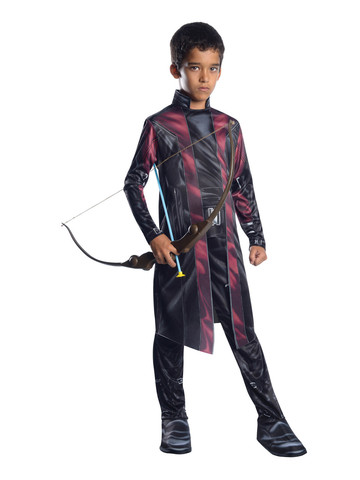 Child Muscle Chest Deluxe Hawkeye Costume - Avengers 2: Age of Ultron