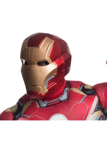 Avengers 2 Age of Ultron Iron Man Mark 43 2-Piece Mask for Adults