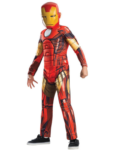Avengers Assemble Deluxe Iron Man Kids Costume