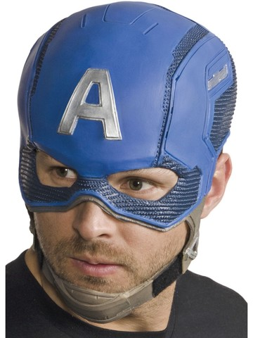 Avengers: Endgame Captain America Adult 3/4 Mask