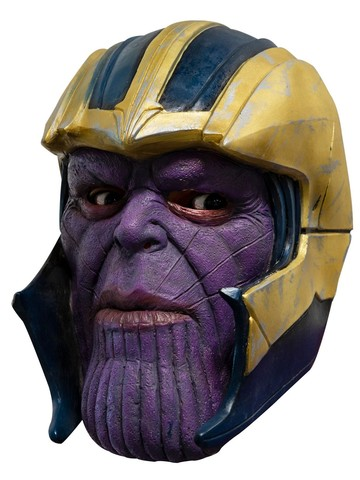Avengers: Endgame Thanos Adult 3/4 Vinyl Mask