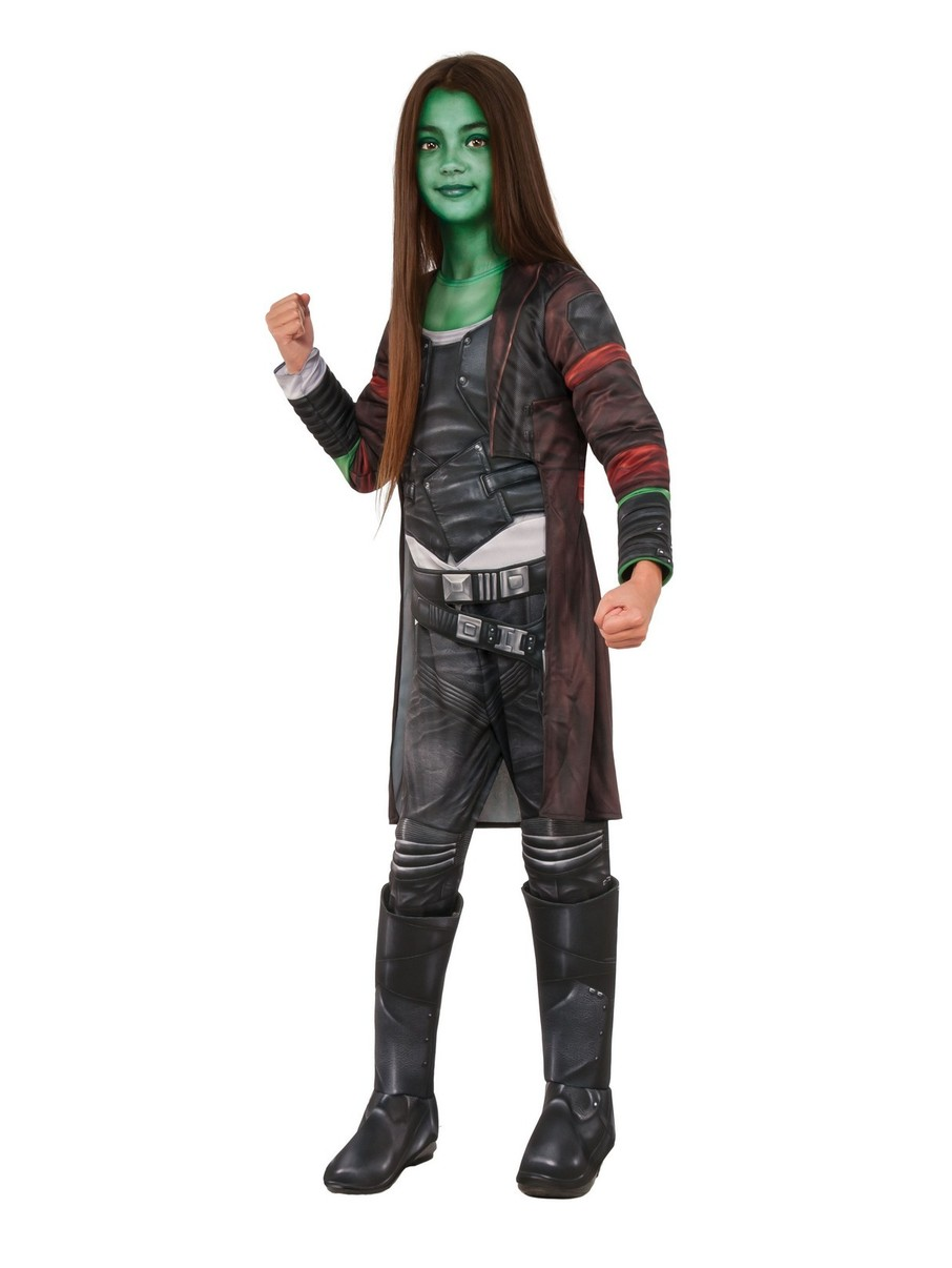View larger image of Girls Gamora Deluxe Costume - Avengers: Endgame