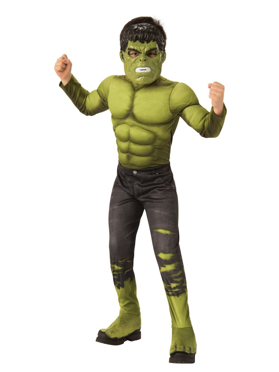 View larger image of Hulk Deluxe Avengers 4 Costume