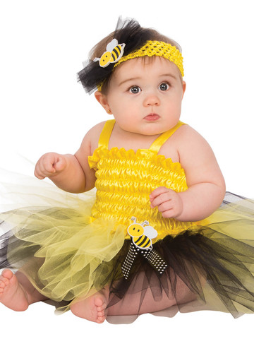 Baby's Bumble Bee Tutu Costume