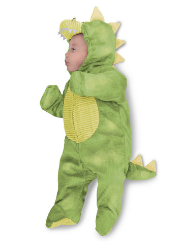 Baby Green Sleepy Dino Costume