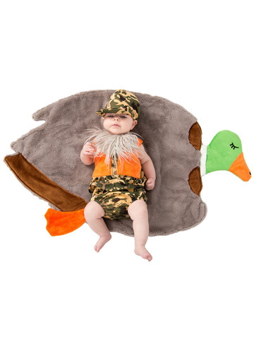Duck Hunter Swaddle Wings Baby Costume