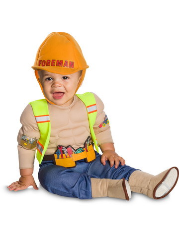 Baby/Toddler Lil' Construction Worker Costume