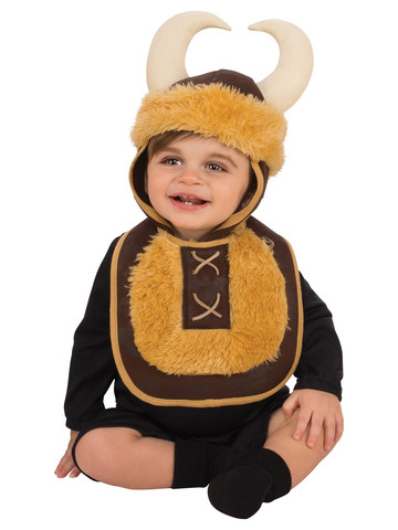 Baby Viking Bib & Hat Costume