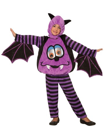 Wiggle Eyes-Bat Costume for Kids