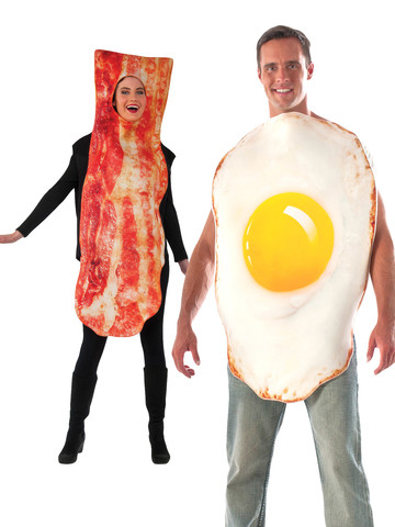 Bacon and Eggs Breakfast Costume Kit