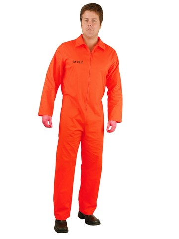 Bad Boy Dept of Correction Mens Costume