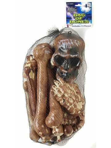 12 Piece Bag of Bones Set