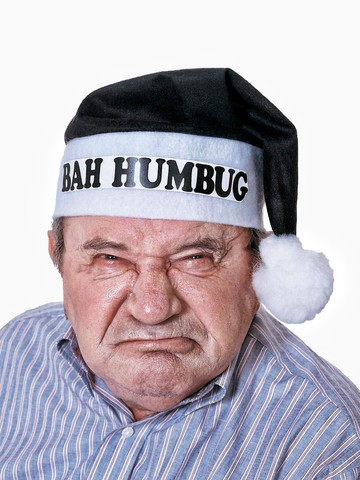 Bah-Humbug Grouch Hat Accessory