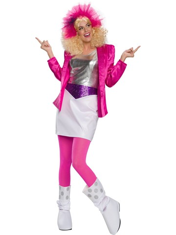 Child Deluxe Rocker Barbie Costume