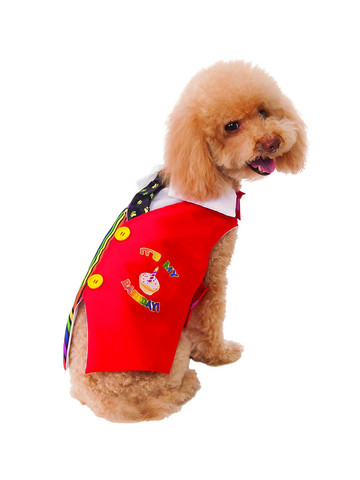 Happy Barkday - Vest - Pet Costume