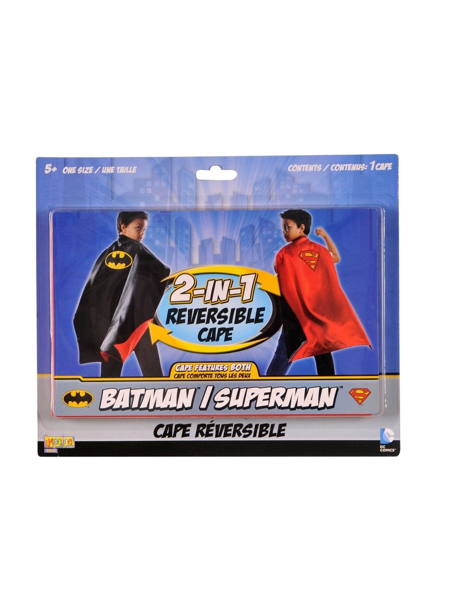 View larger image of Batman/Superman Reversible Cape