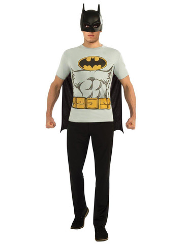 Batman T-Shirt Adult Costume Kit