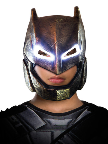 Batman V Superman: Dawn of Justice- Batman Adult Armored Light Up Mask