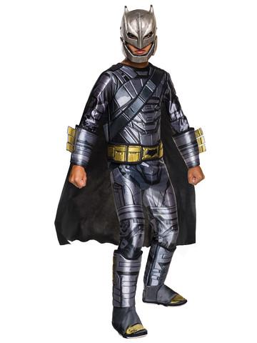 Batman V Superman: Dawn Of Justice - Boys Deluxe Batman Armored Costume