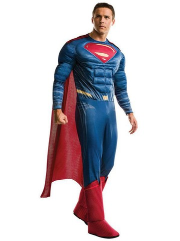 Adult Justice League Movie Superman Costume Deluxe
