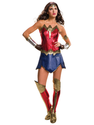 Batman V Superman: Dawn of Justice- Deluxe Wonder Woman Adult Costume