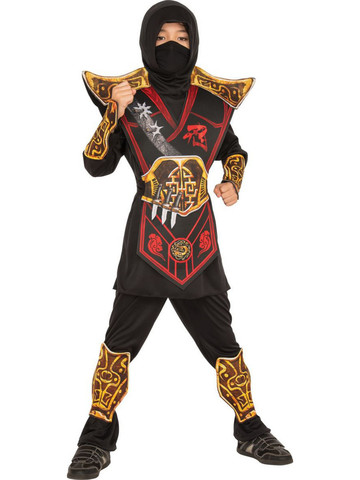 Classic Battle Ninja Kids Costume