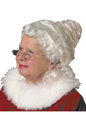 Beautiful Mrs. Claus Wig Adult