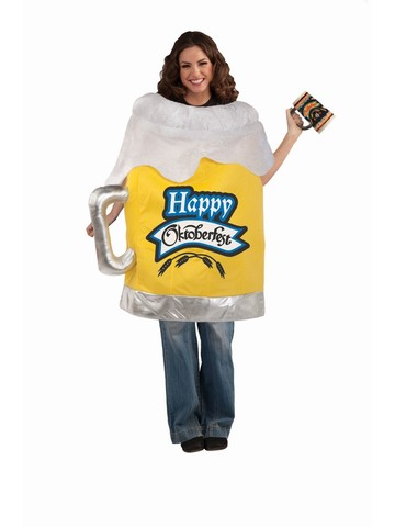 Adult Beer Mug Costume