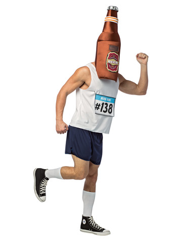 Adult Beer Run Costume