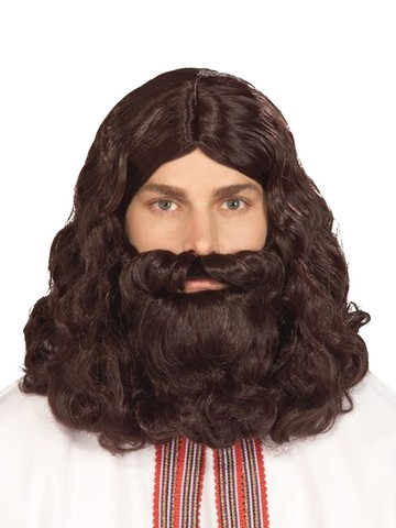Men's Biblica Beard and Wig Set