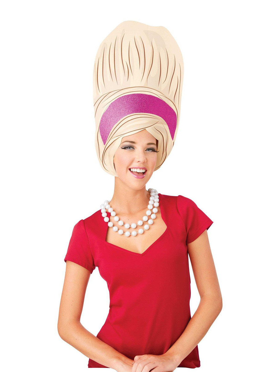 View larger image of Adult Big Beehive Foam Wig