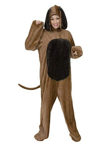 Big Dog - Adult Plus-Size Costume - Brown